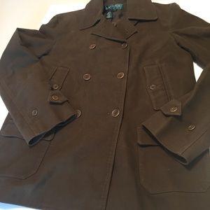 Lauren Ralph Lauren Dress Pea Coat Petite Medium